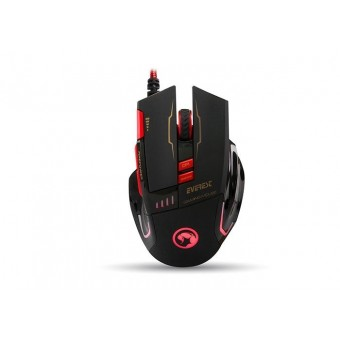 EVEREST SGM-X10S SIYAH GAMING MOUSE + PAD